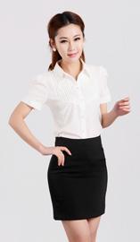 女式短袖衬衫CS-3550