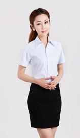 女式短袖衬衫CS-8250