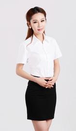 女式短袖衬衫CS-8251