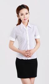 女式短袖衬衫CS-8254