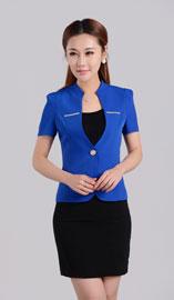 女士短袖西服XZ-1074