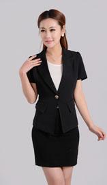 女士短袖西服XZ-1079