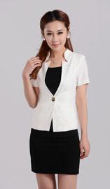 女士短袖西服XZ-1081