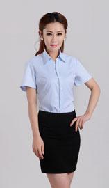 女式短袖衬衫CS-8252