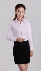女式长袖衬衫CS-450