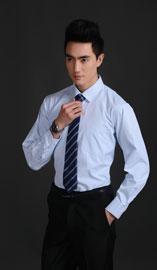 男士长袖衬衫NCS-0406