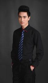 男士长袖衬衫NCS-0609