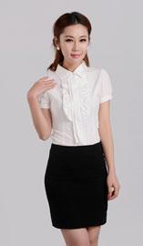 女士短袖衬衫CS-001